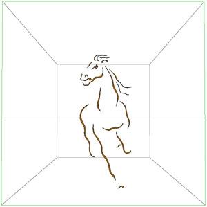 Arturo lorenzo martinoli for Disegno cavallo stilizzato